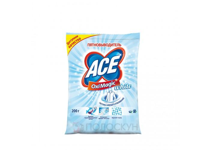 Засіб для видалення плям з білих речей Ace