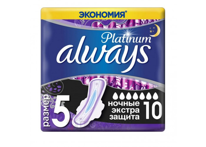 Прокладки Platinum Secure Night Always