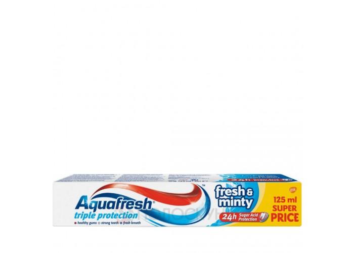 Зубна паста Освіжаюча м'ята Aquafresh
