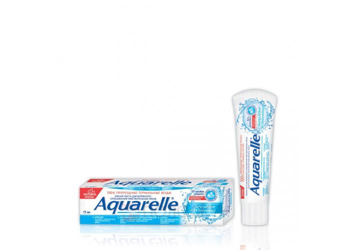 Зубна паста Sensitive + Відбілення Aquarelle
