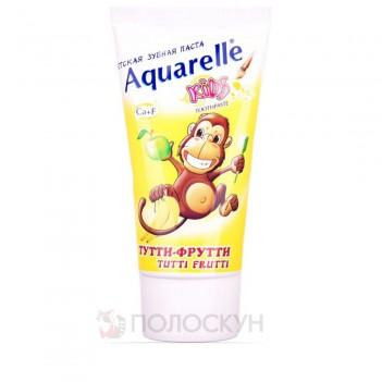 Дитяча зубна паста Тутті-Фрутті Aquarelle