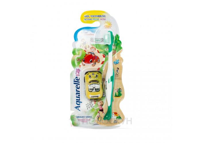 Дитяча зубна щітка + іграшка Aquarelle