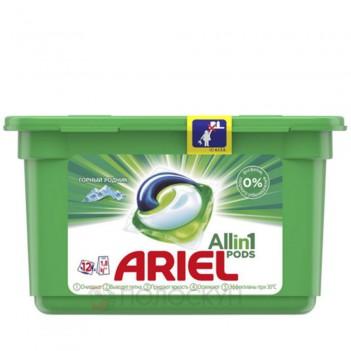 Гелеві капсули для прання Гірське джерело Ariel
