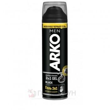 Гель для гоління Black 2в1 Arko