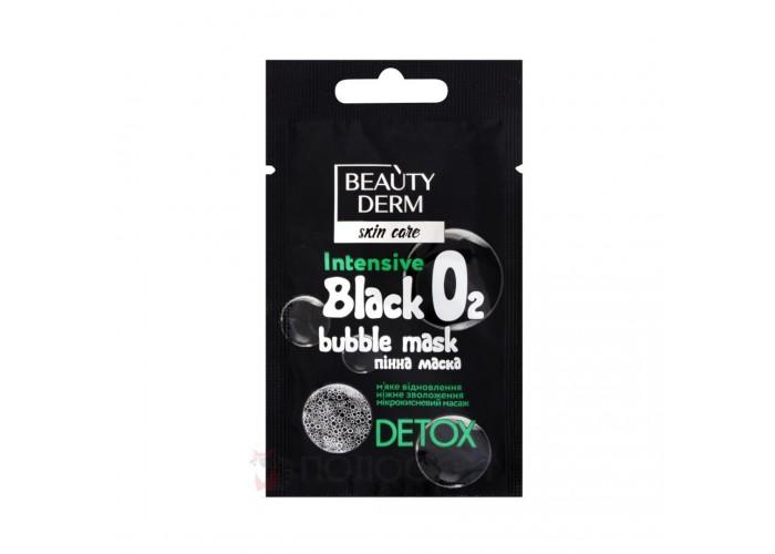 Пінна маска для обличчя Black Bubble Beautyderm