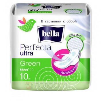 Прокладки (зкрильцями) Perfecta Ultra Green Bella