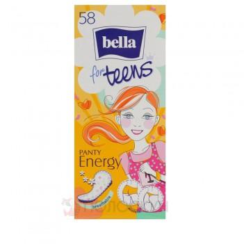 Гігієнічні прокладки щоденні Panty for Teens Energy Bella