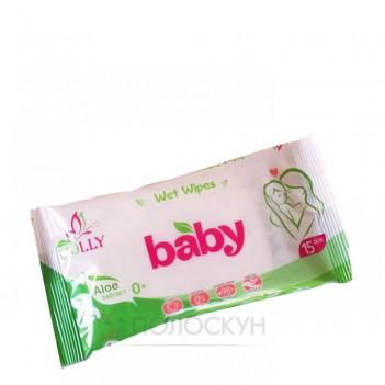 Вологі серветки Biolly Baby