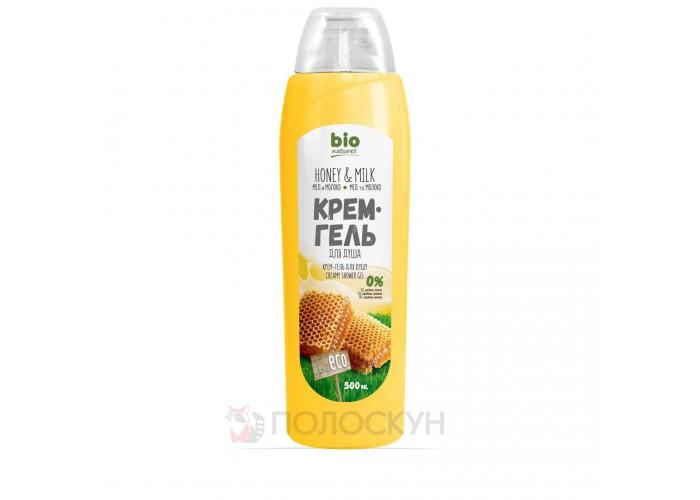 Гель для душу Мед з молоком Bio Naturell
