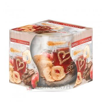 Свічка ароматизована Яблуко-кориця Біспол