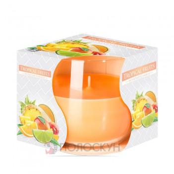 Свічка ароматизована Тропічні фрукти Біспол