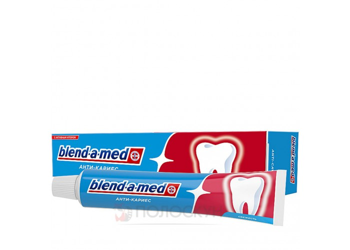 Зубна паста Антикарієс Fresh Blend-a-med