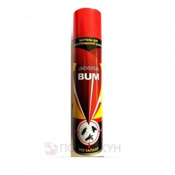 Засіб інсектецидний для захисту від повзаючий та літаючих комах Bum