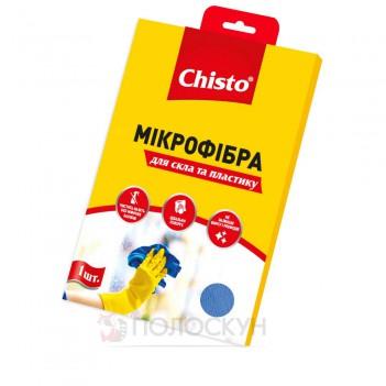 Серветка Мікрофібра для вікон та пластику Чисто