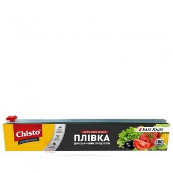 Плівка для харчових продуктів з безпечним ножем Чисто