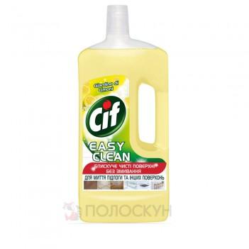 Засіб для чищення підлоги та стін Лимонна свіжість Cif