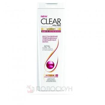 Шампунь для відновлення пошкодженого та фарбованого волосся Clear