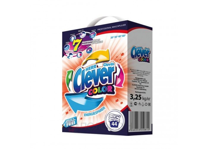 Порошок для прання Color Clever