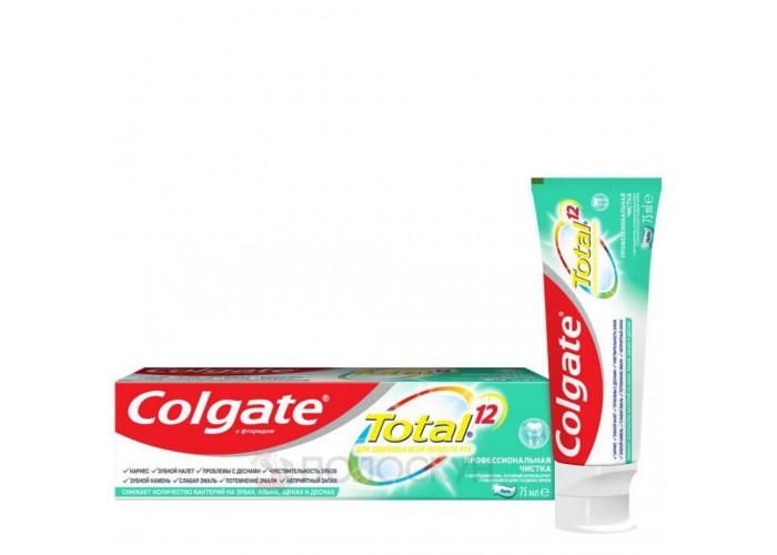Зубна паста Total 12 Професійна чистка гель Colgate
