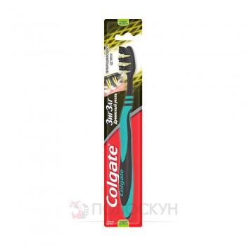 Зубна щітка Зіг-Заг Деревне вугілля Colgate