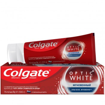 Зубна паста Optic White миттєва Colgate