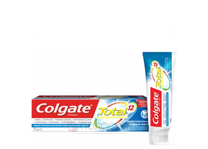 Зубна паста Total Помітна дія Colgate