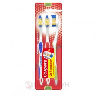 Зубна щітка Класика здоров'я 2+1 Colgate