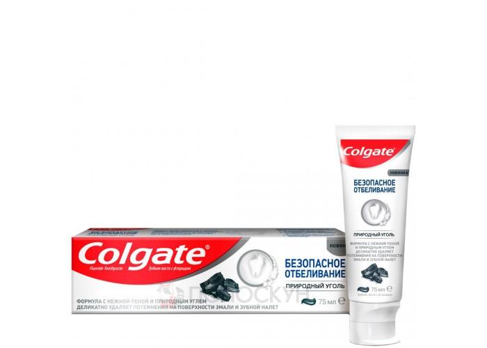 Зубна паста Безпечне відбілювання з вугіллям Colgate