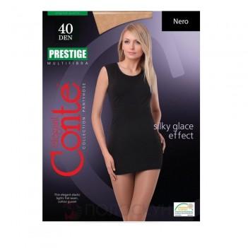 Жіночі колготи 40 DEN Розмір 3 Prestige Nero Conte
