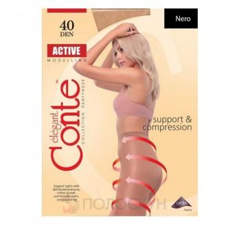 Жіночі колготи Active №5 40DEN Nero Conte