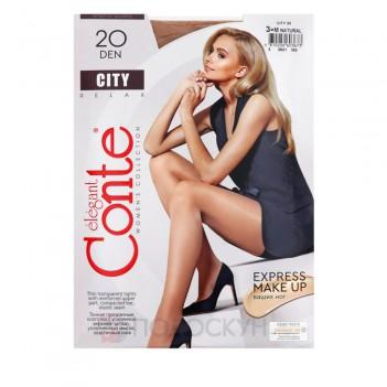 Жіночі колготи 20 DEN №3 Natural City Conte