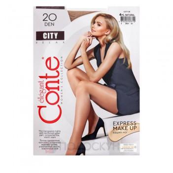 Жіночі колготи 20 DEN №4 Natural City Conte