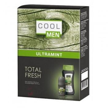 Набір чоловічий Ultramint Total Fresh (гель-шампунь та антиперспірант) Cool Men