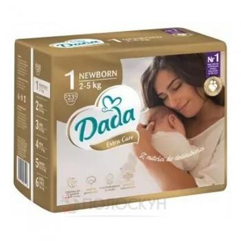 Підгузки Premium №1 Newborn 2-5кг Dada