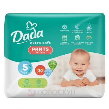Підгузки-трусики Extra Soft №5 Junior 12-17 кг Dada