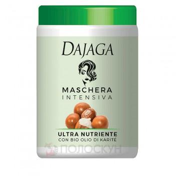 Маска для волосся з олією каріте Dajaga