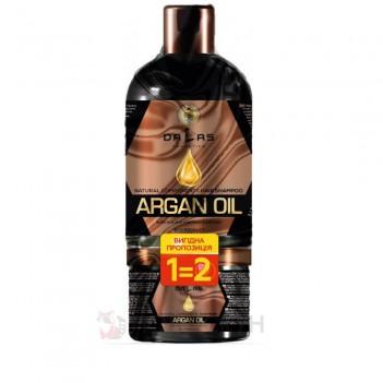 Набір 1=2 Шампунь для волосся 1л + маска для волосся 0,5л з екстрактом журавлини та аргановою олією Dallas