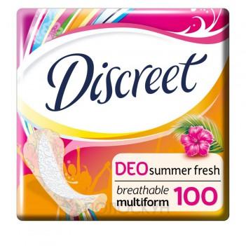 Щоденні прокладки - Літня свіжість Discreet