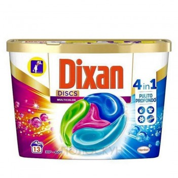 Диски для прання Multicolor Dixan