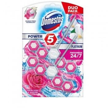 Блок для очищення Power 5+ Роза і Жасмин Domestos