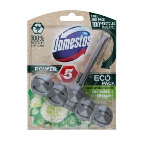Блок для очищення унітаза Power 5 Свіжість огірка та молодої трави Domestos