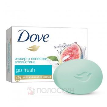 Крем-мило Інжир та пелюстки апельсину Dove