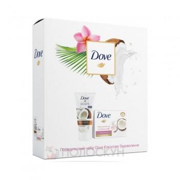 Набір жіночий Кококсове задоволення (крем для рук та крем-мило) Dove