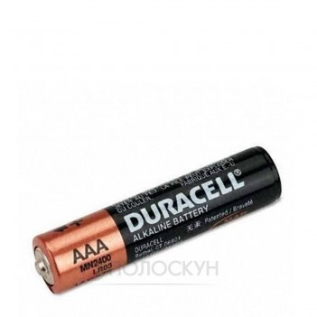 Батарейки Basic - AAA - 1,5V - LR03 Duracell