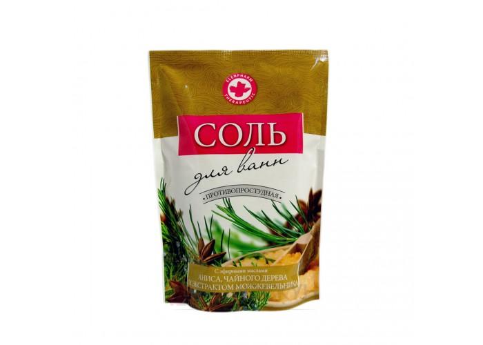 Сіль для ванн з оліями анісу та чайного дерева Elensee