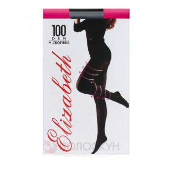 Жіночі колготи 100 DEN №3 Чорний Elizabeth