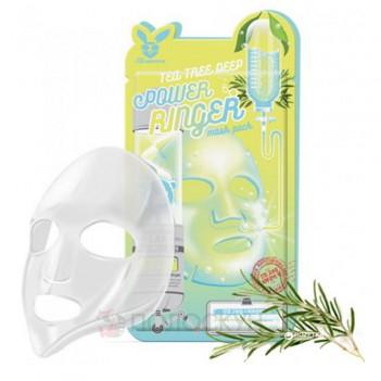 Тканинна маска з чайним деревом для проблемної шкіри Elizavecca