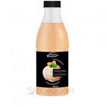 Піна-шейк для ванн Персикове безе Energy of Vitamins