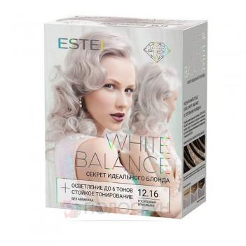 Висвітлювач+тон для волосся 12.16 Розкішний діамант White Balance Estel