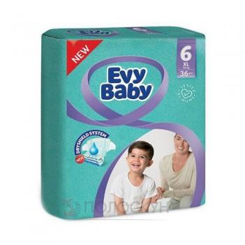 Дитячі підгузки N6 від 16+ кг Evy Baby